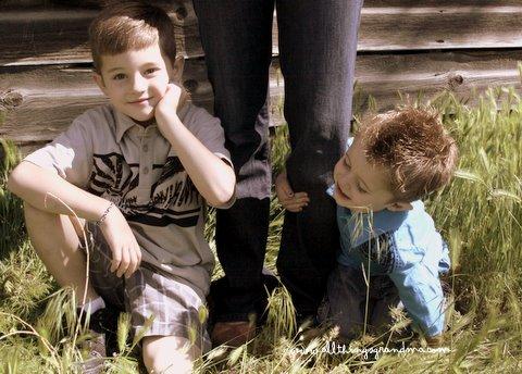 Through Grandma's Eyes: Brothers