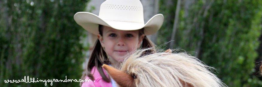 Through Grandma's Eyes:  The Pony