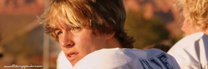 Through Grandma's Eyes:  The Quarterback