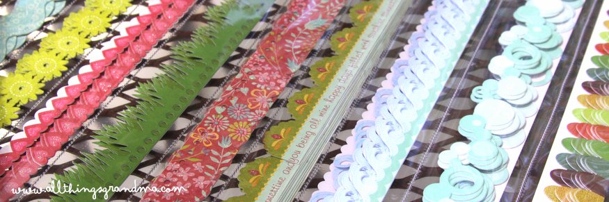 Organize Scrapbook Borders