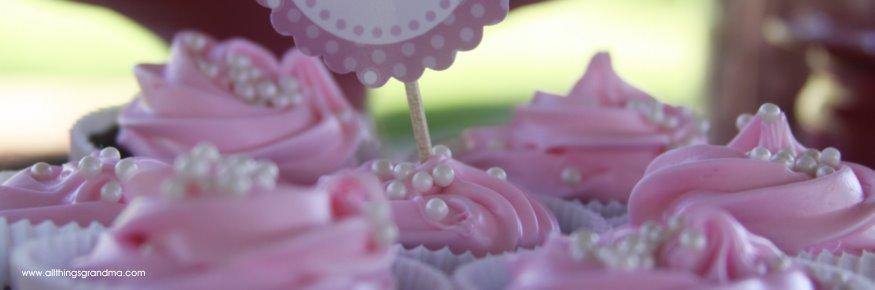 Grandma's Pink Cupcakes