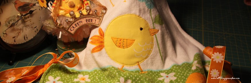 Easter Bibs from Hand Towels