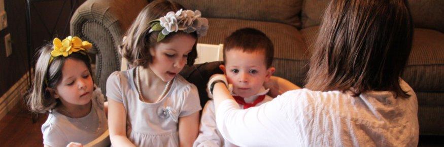 Adding Symbolism to Family Photography