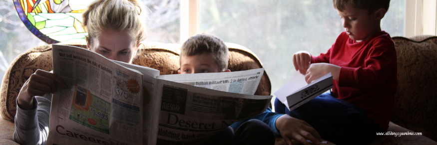Photography Favorites:  The Newspaper