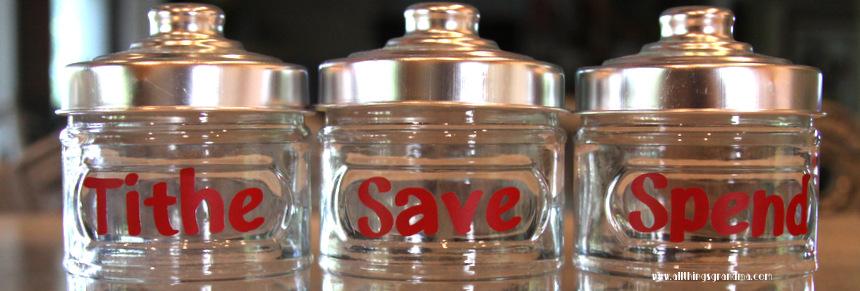 Tithing Jars for Children