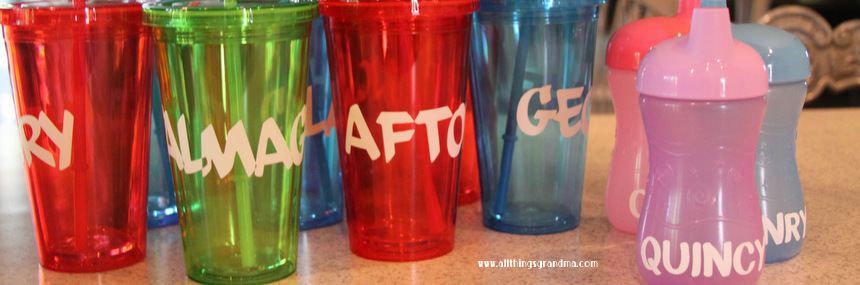 """I'm Thirsty"" Cups for Kids"