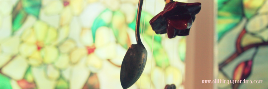 Wind Chimes from Silver Spoons