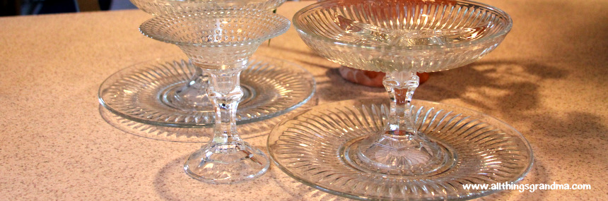 Easy Crystal-Look Party Dishes