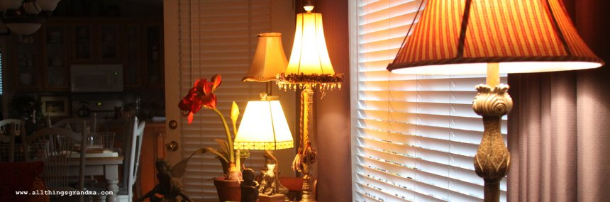 Flea Market Style: Lamps and Light