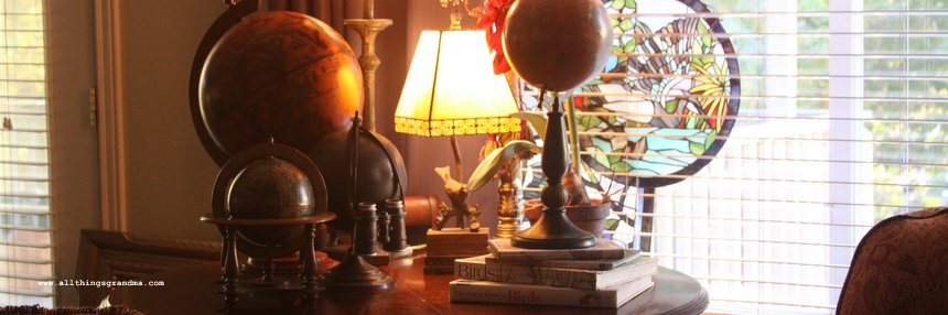 Flea Market Style:  World Globes