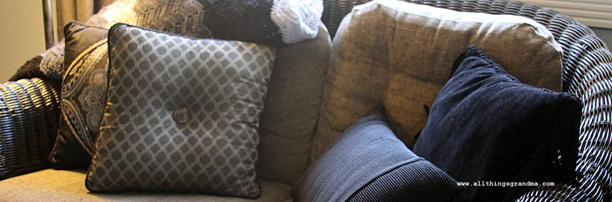 Flea Market Style:  Pillows