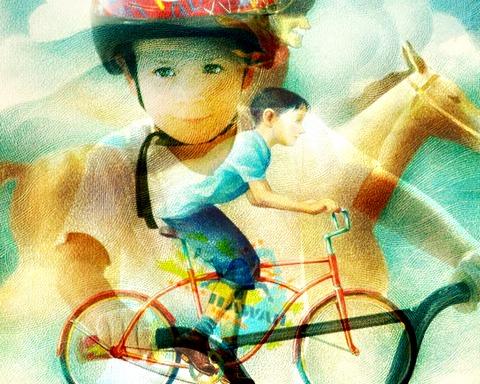 collage george bike