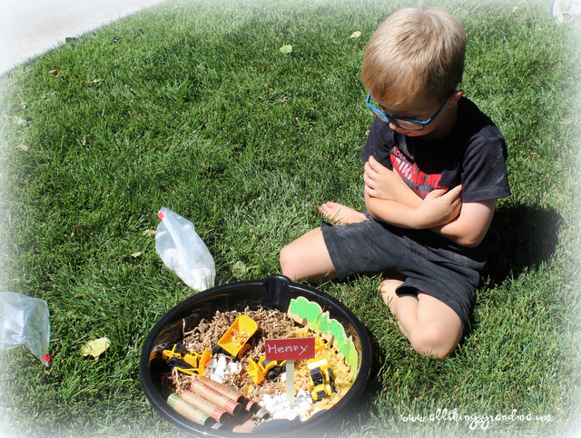 Small Worlds Sensory Bins
